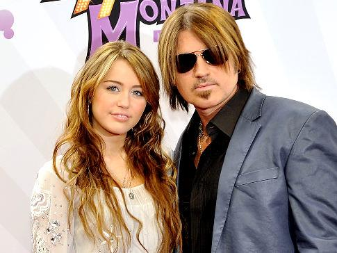 Billy Ray Cyrus, Miley Cyrus, Hannah Montana