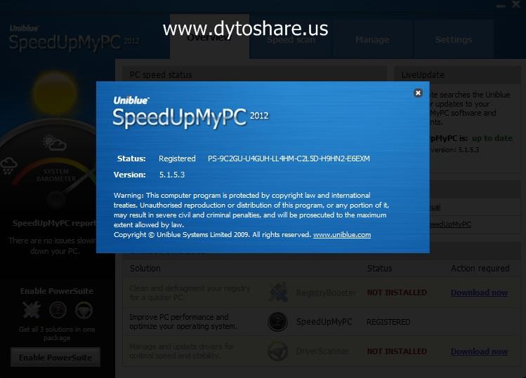 uniblue speedupmypc free