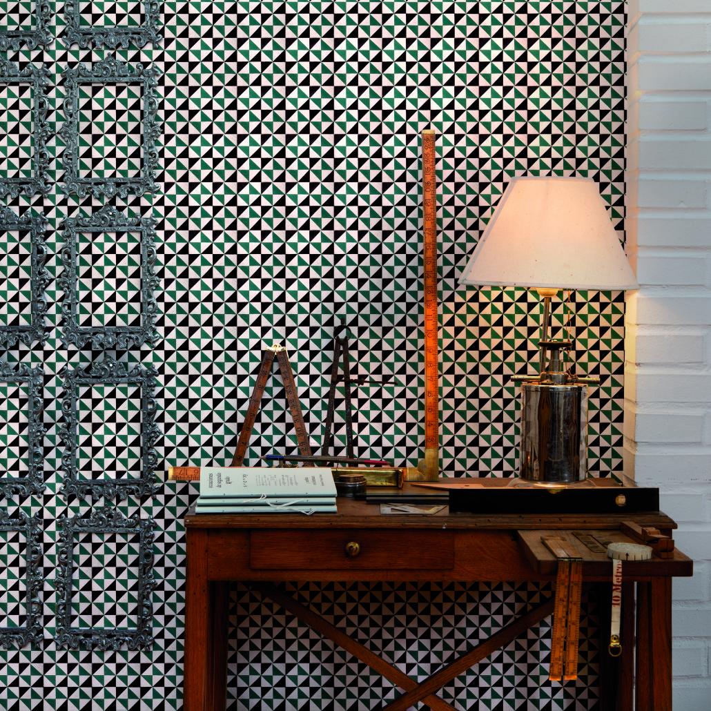 Loulou gatou d co tendance les carreaux de ciment for Papier peint carreaux de ciment 4 murs