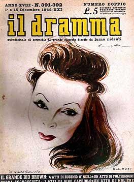 Il Dramma n. 391-392, 1-15 dicembre 1942, copertina