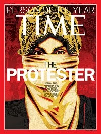 'THE PROTESTER' - Person of the Year 2011
