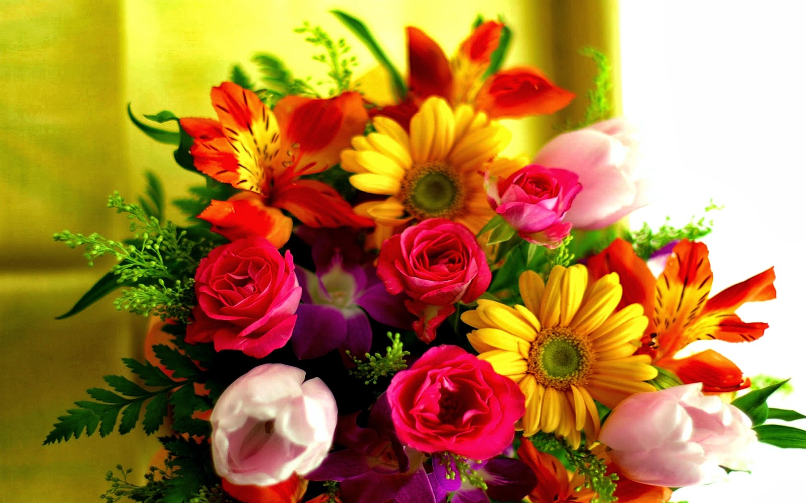 Top 6 Mother's Day Flowers - Mothers Day 2014