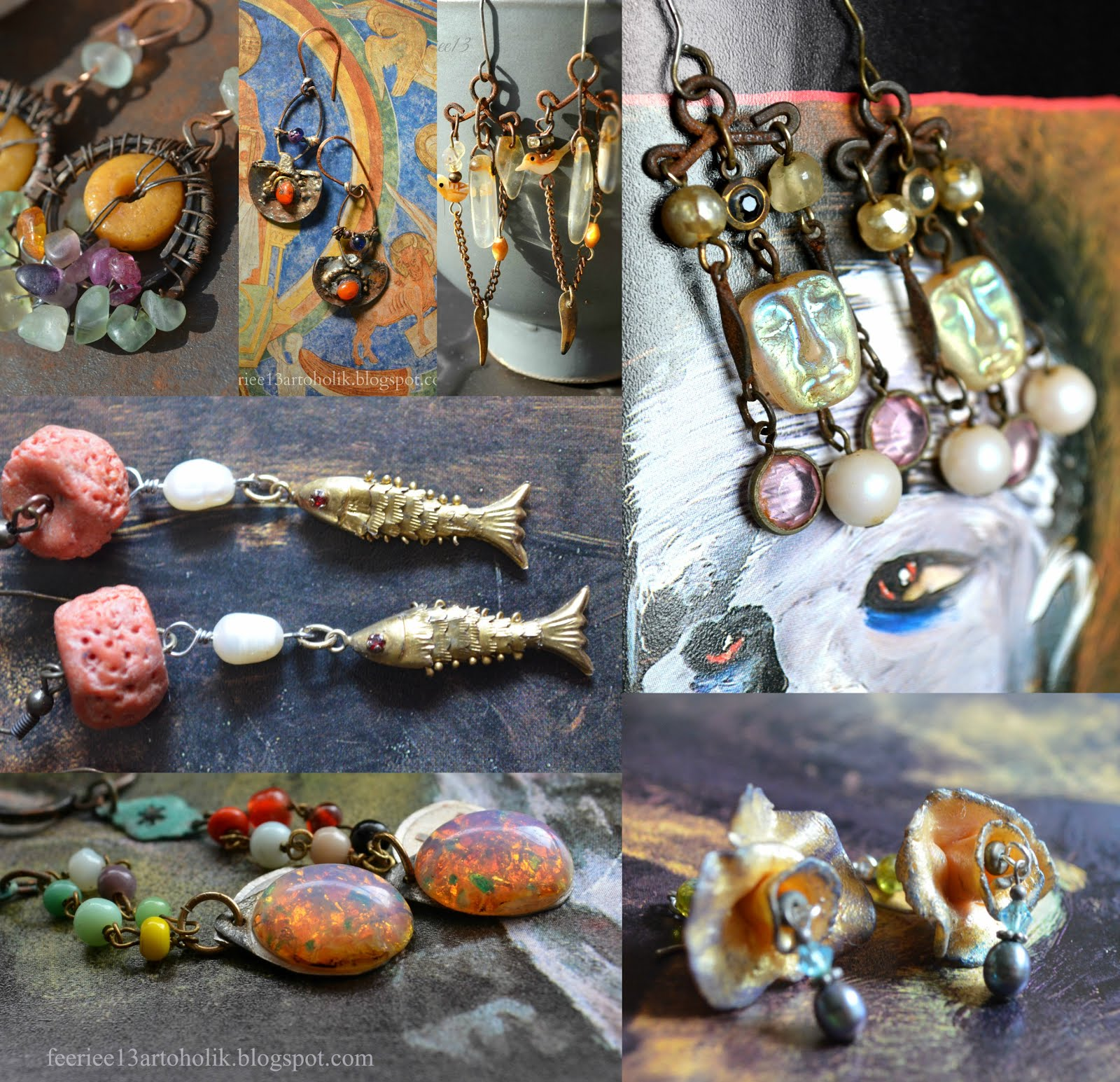 My Art Jewelry on Pinterest