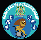 Logo da Comissão de Acessibilidade