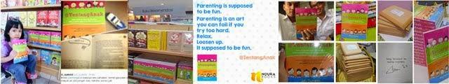 Belum pernah saya membaca buku parenting sekeren ini. -Irhayati Harun, Novelis-