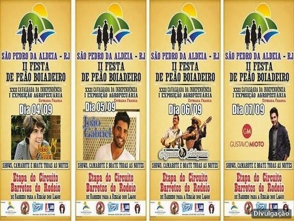 Prefeitura aldeense realiza I Expoagro de São Pedro da Aldeia nos dias 4, 5, 6 e 7 de setembro