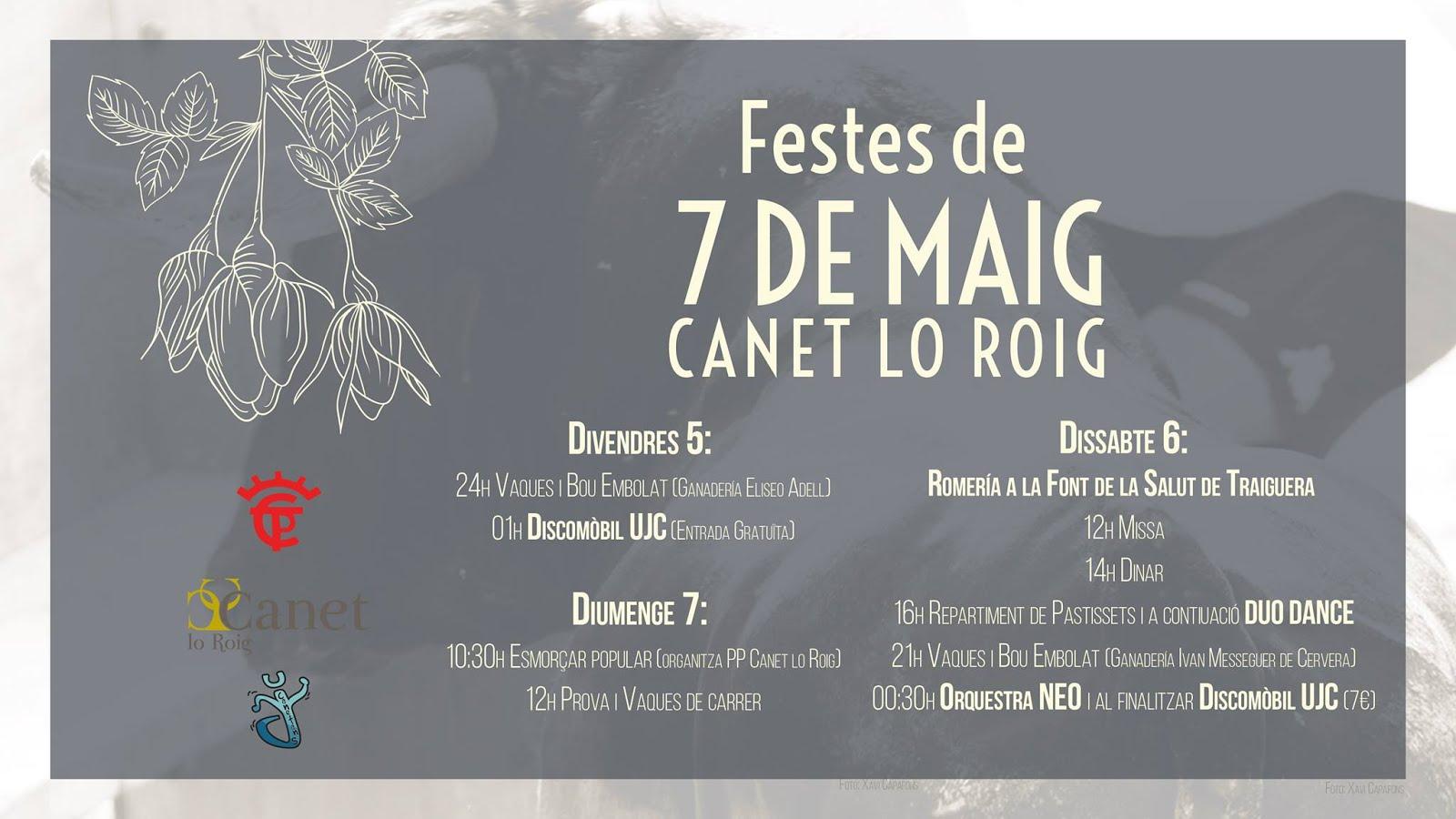 Canet lo roig fiestas mayo 2017 castell n fecartoros for Eventos madrid mayo 2017