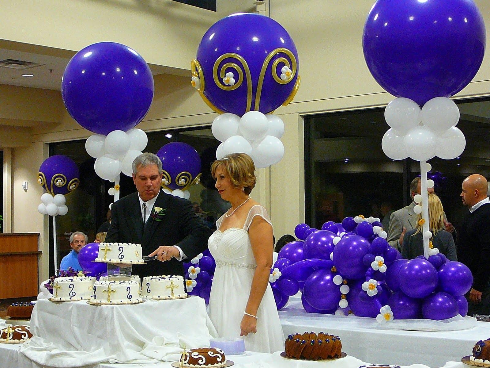 Balloon designs pictures balloon decor for Ballon wedding decoration