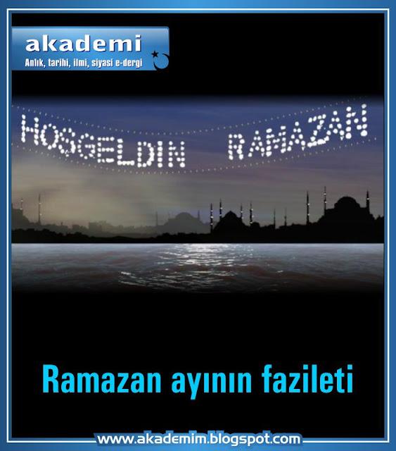 Ramazan ayının fazileti