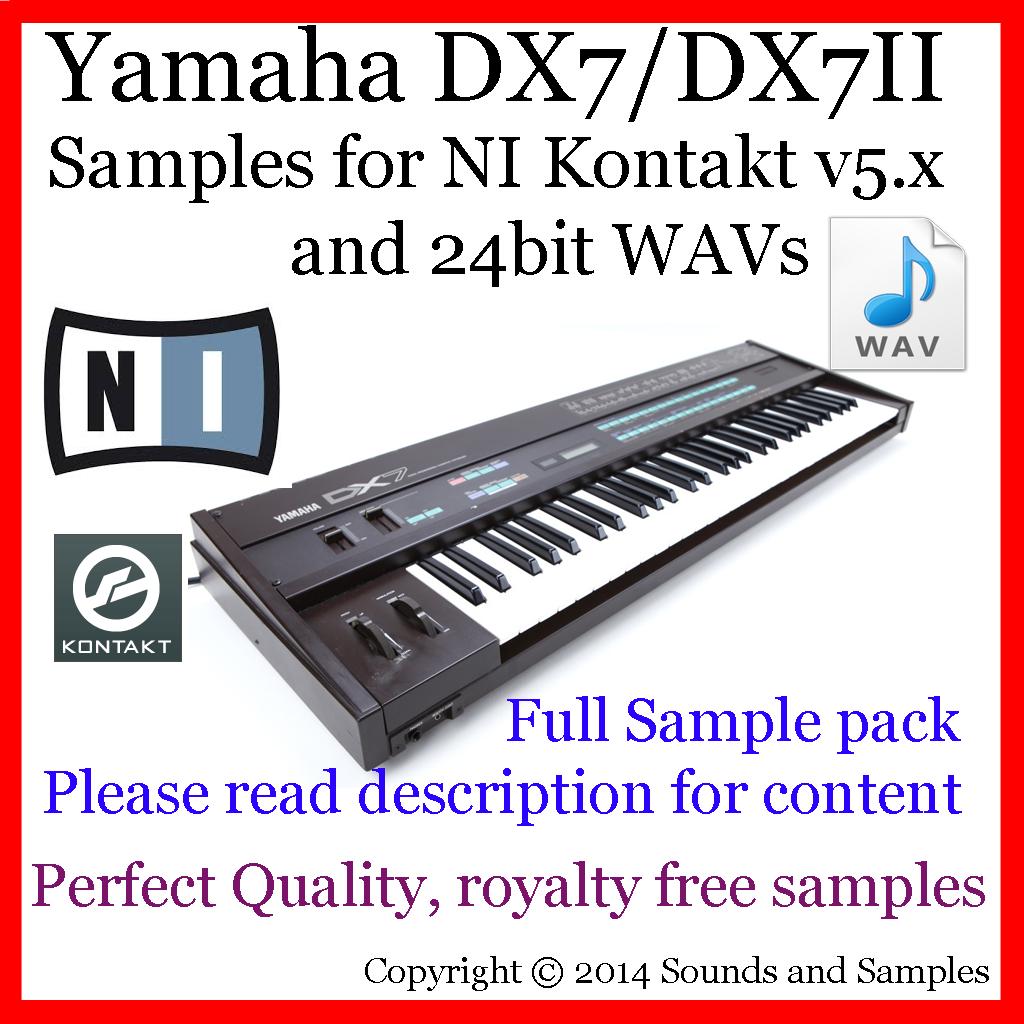 Yamaha DX7 KONTAKT ~ VST PEDIA