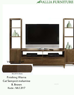 Contoh Furniture Semprot Melamine B.Brown
