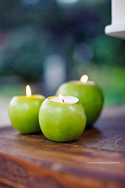 Идея для с одним яблоком