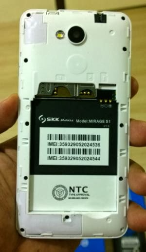 Battery Compartment, micro SD and SIM slots