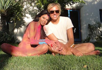 Sherlyn Chopra's naked Playboy