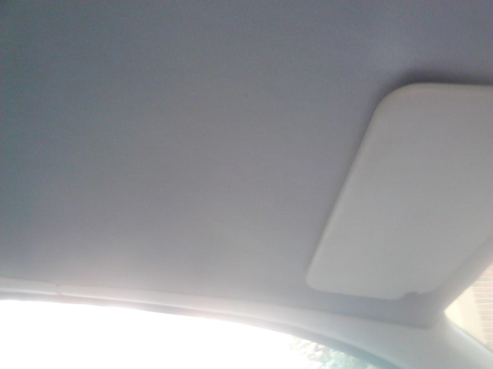 Tapizado del techo del coche back to the dark light - Cama con techo de tela ...