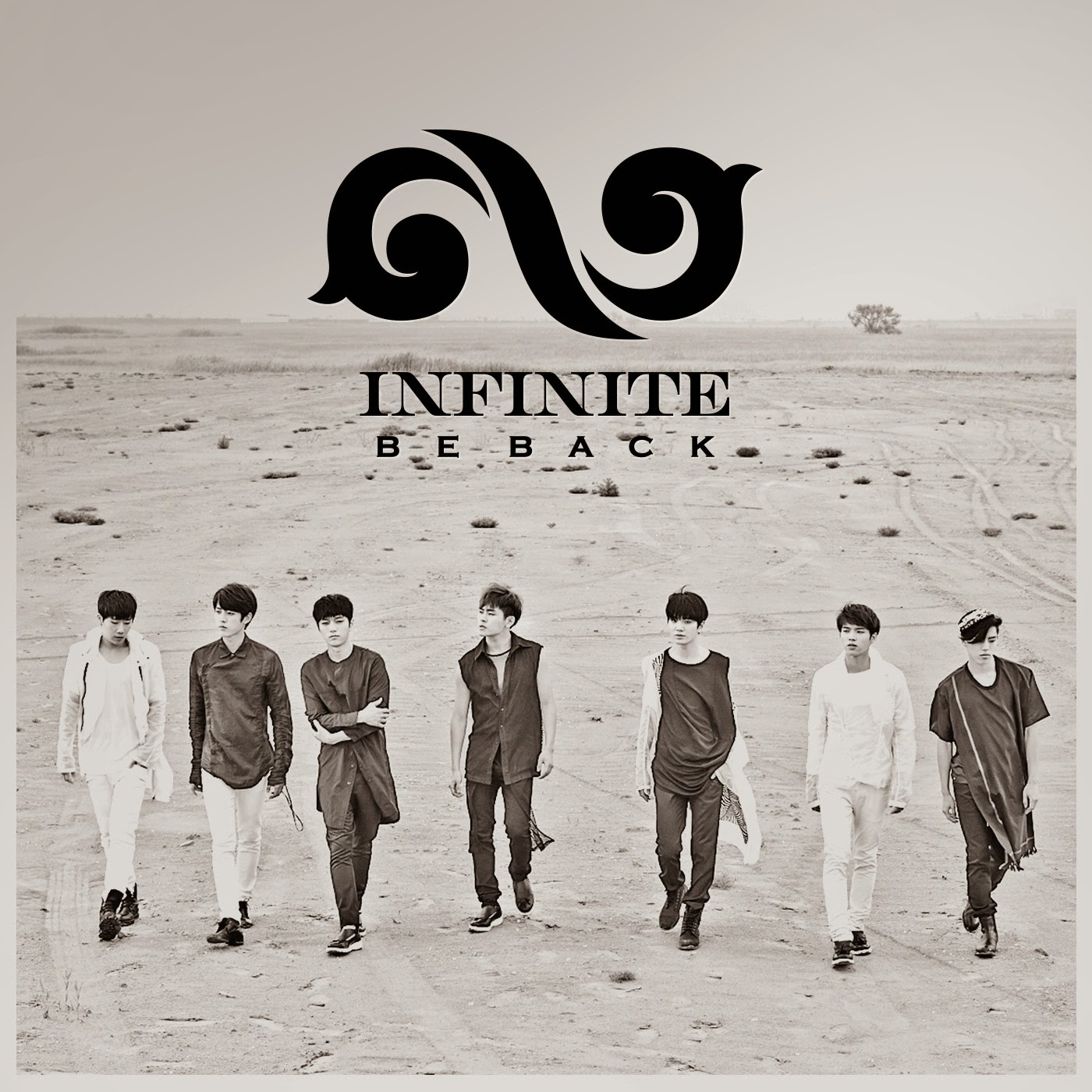 INFINITE Be Back lyrics cover
