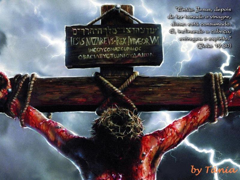 Jesus te Ama, ele sofreu por nós!!!