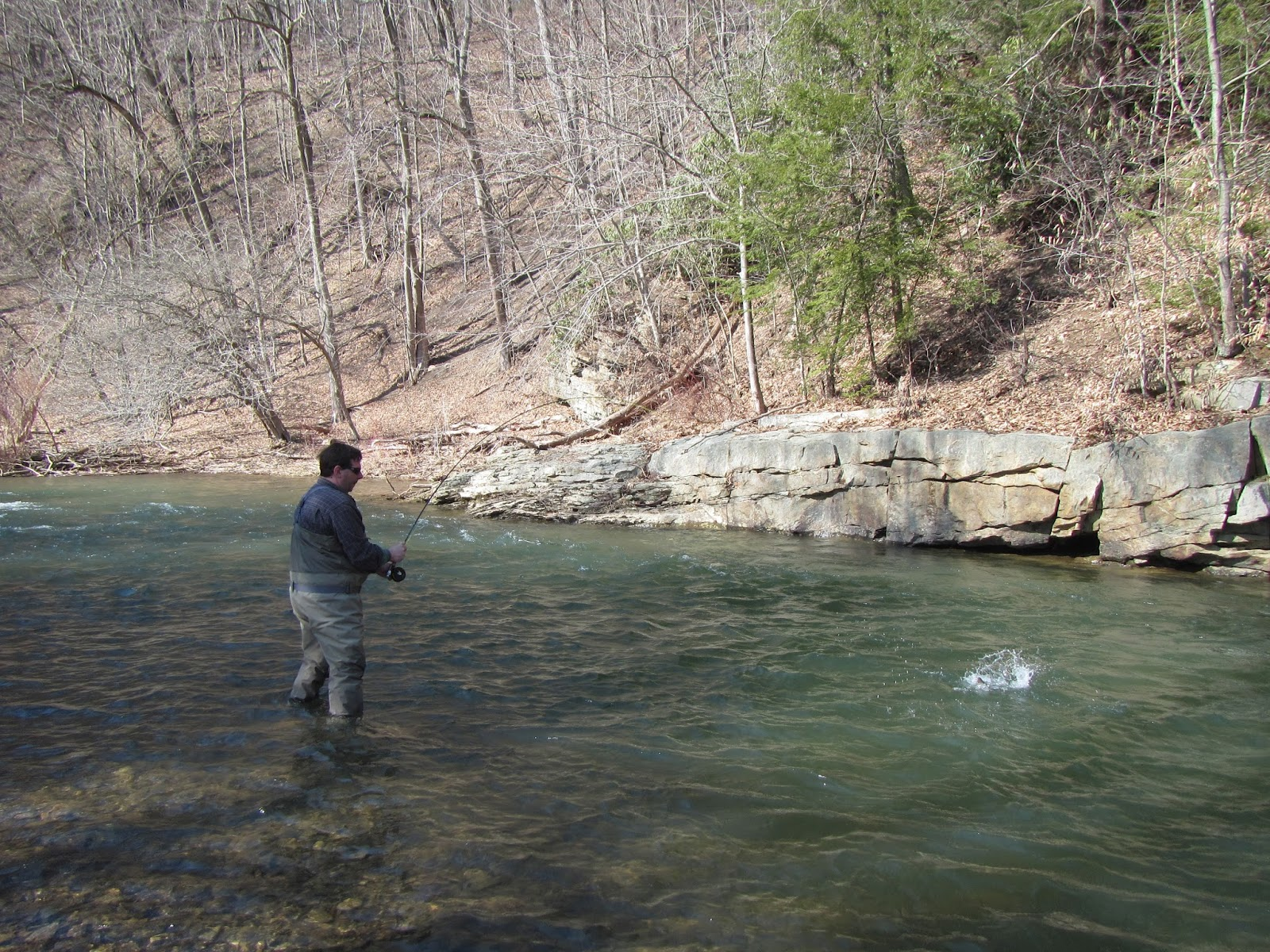 western maryland fly fishing casselman river it 39 s spring time