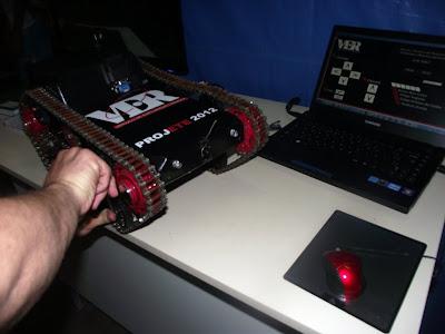 Consertando o robô