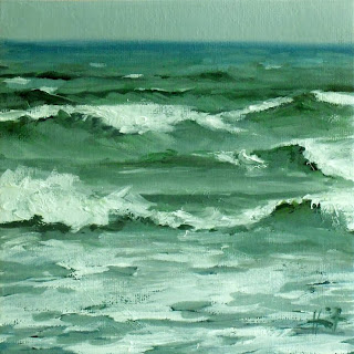 Rough Sea by Liza Hirst