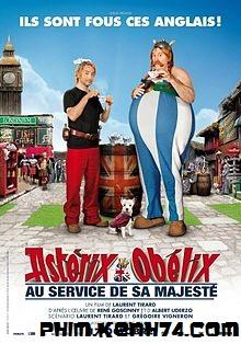 Phim Chúa Cứu Nước Anh - Asterix And Obelix: God Save Britannia