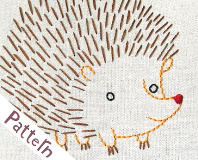 Hedgehog - Cute Embroidery