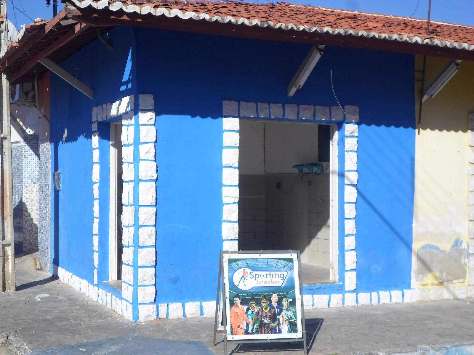 SPORTING SNOOKER EM CARNAÚBA DOS DANTAS-RN