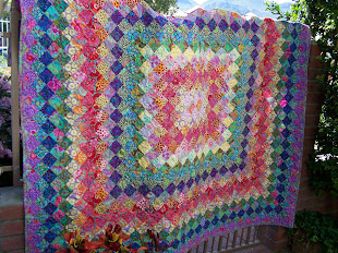 Finished Spring Boston Common Quilt