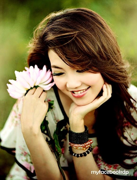 Cute Girl warm smile