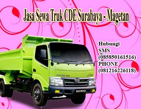 Jasa Sewa Truk CDE Surabaya - Magetan