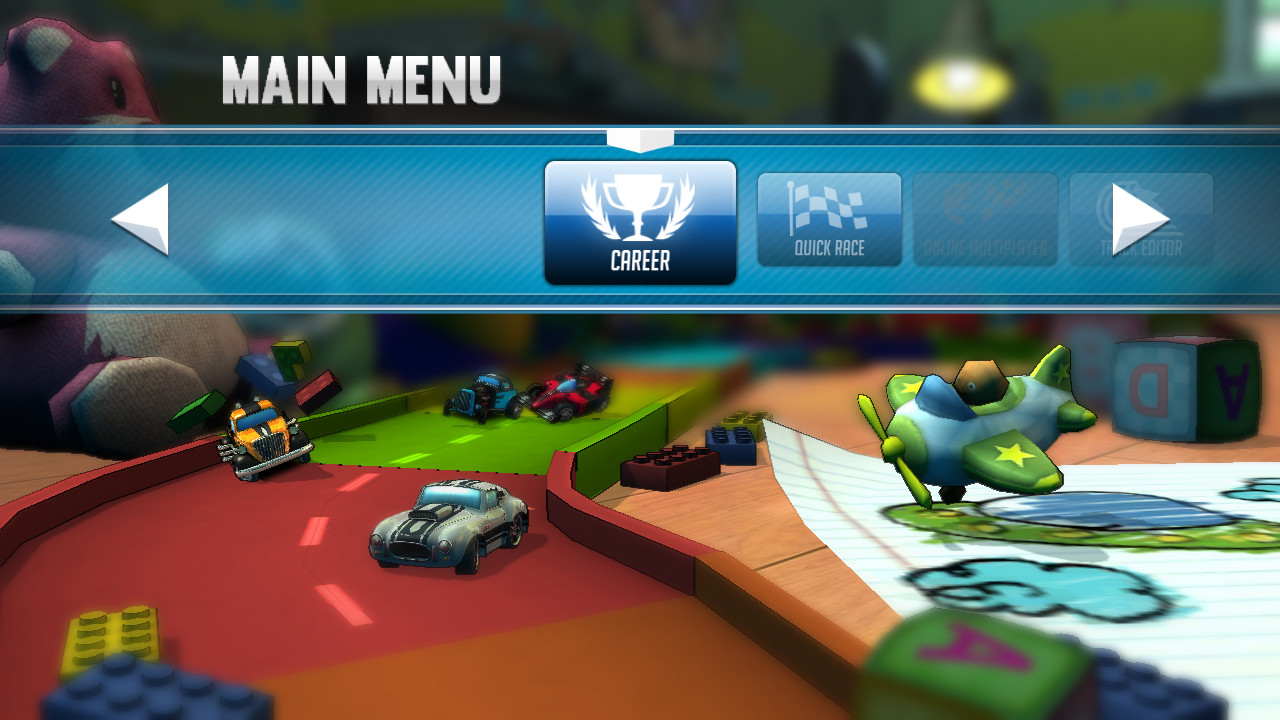 Screenshots from Super Toy Cars for Wii U :