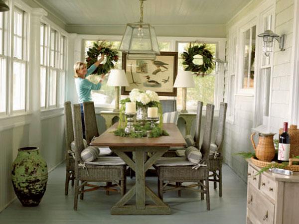 new home interior design breakfast areas. Black Bedroom Furniture Sets. Home Design Ideas