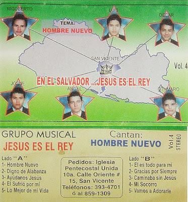 Jesús Es El Rey-Vol 4-Hombre Nuevo-