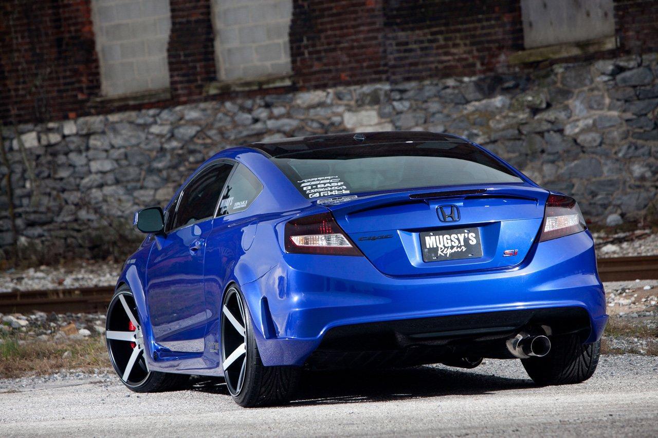 Honda Civic Si For Sema By Fox Marketing Car Tuning Styling
