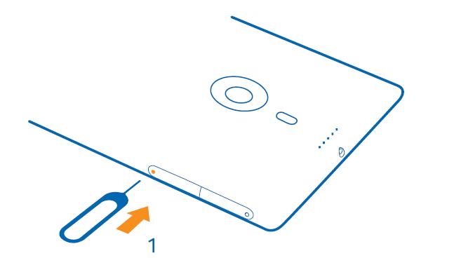 Come inserire scheda SIM Nokia Lumia 1520 in maniera corretta