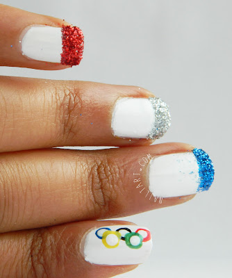 french olympics nails