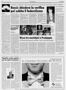 LA STAMPA 31 OTTOBRE 1994