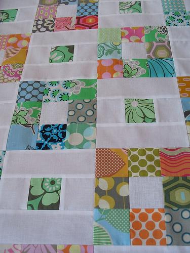 ninepatch quilt top