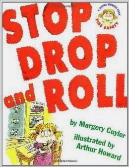 http://www.amazon.com/Stop-Drop-Roll-about-Safety/dp/0689843550