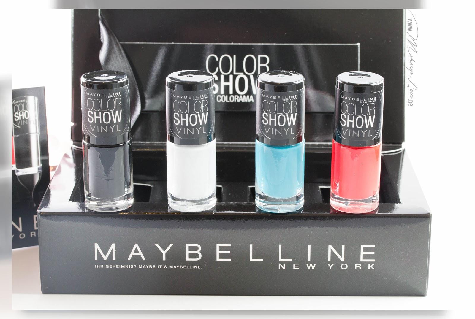 Maybelline coloshow vinyl nagellacke kollektion