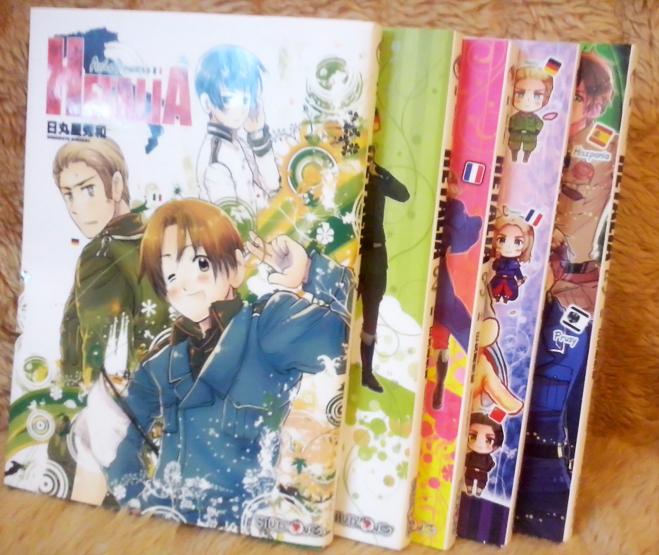 Manga - Hetalia