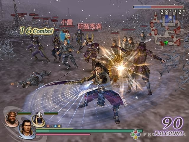 S0e9ria warriors orochi od koei, v japonsku zn0e1ma ako musou orochi, sa najnov161ie pust0ed do bitky na ps3