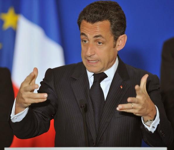 فرنسا: ايقاف الرئيس الفرنسي السابق نيكولا ساركوزي