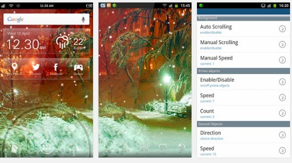 HD Snowfall Live Wallpaper For Android Free App Download Find Android Appz