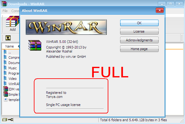 winrar 32 bit windows 7 full crack