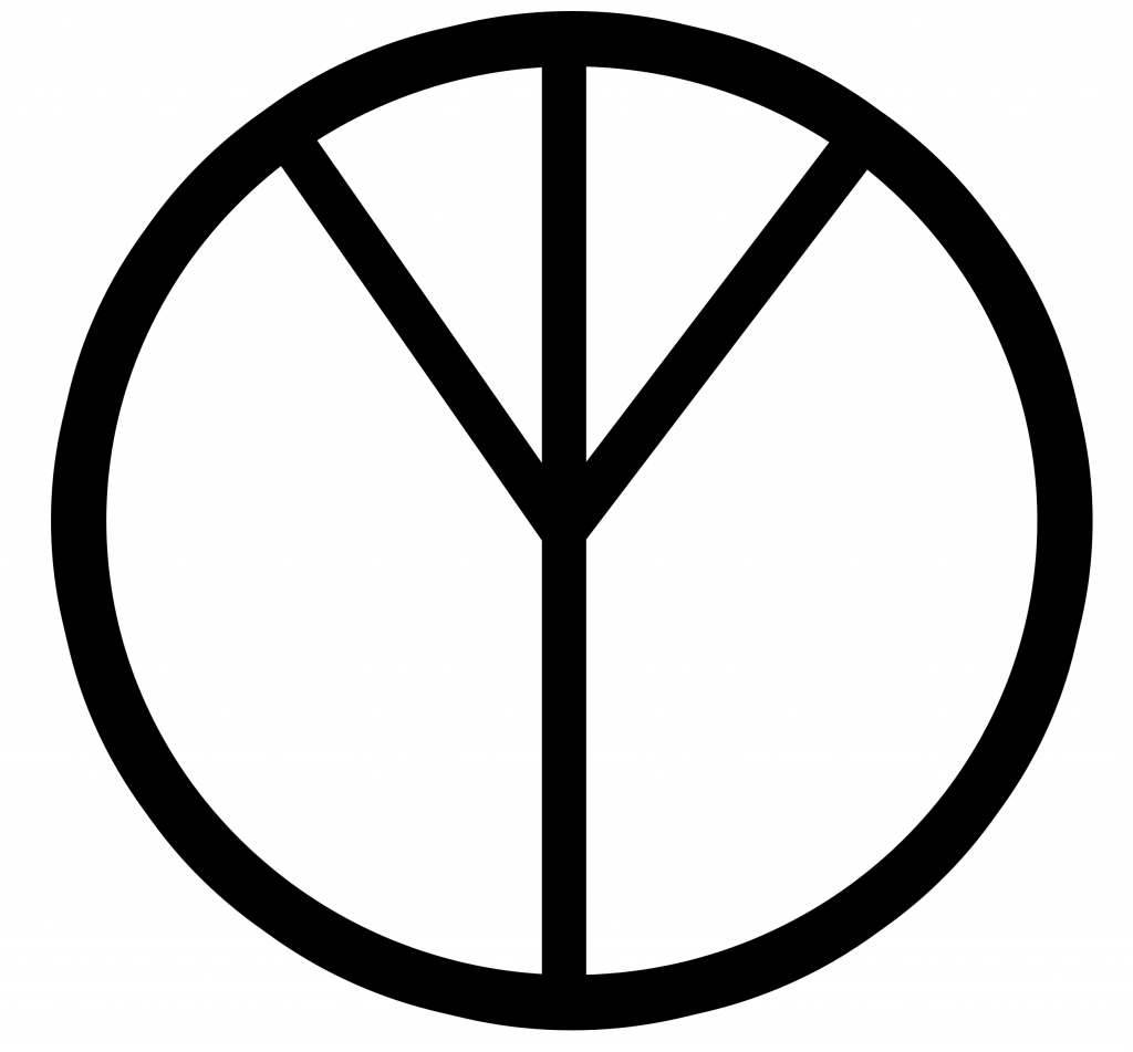 Joe kincheloes critical pedagogy bricolage its not supposed to be upside down this is way the peace sign was intended to be it was meant to represent the tree of life yet some time in history biocorpaavc Choice Image