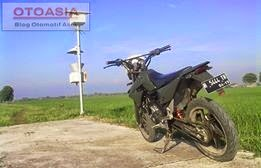 Modifikasi Honda CB150R Model Motor Trail
