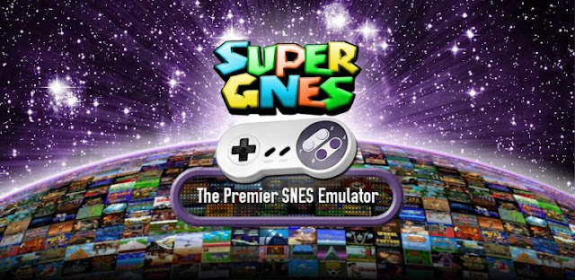 SuperGNES (SNES Emulator) v1.3.6