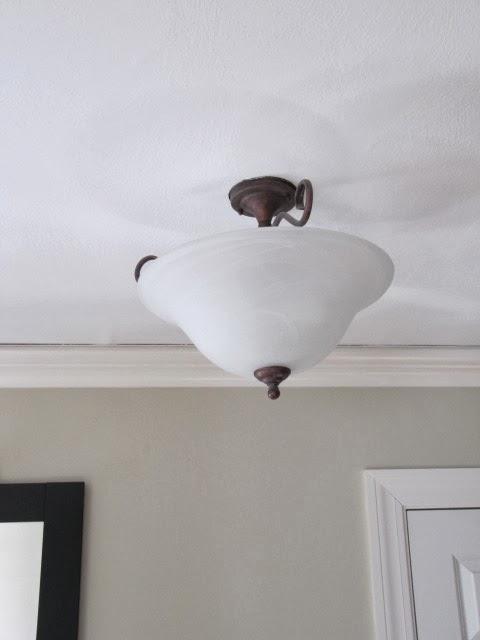 Painting Light Fixtures