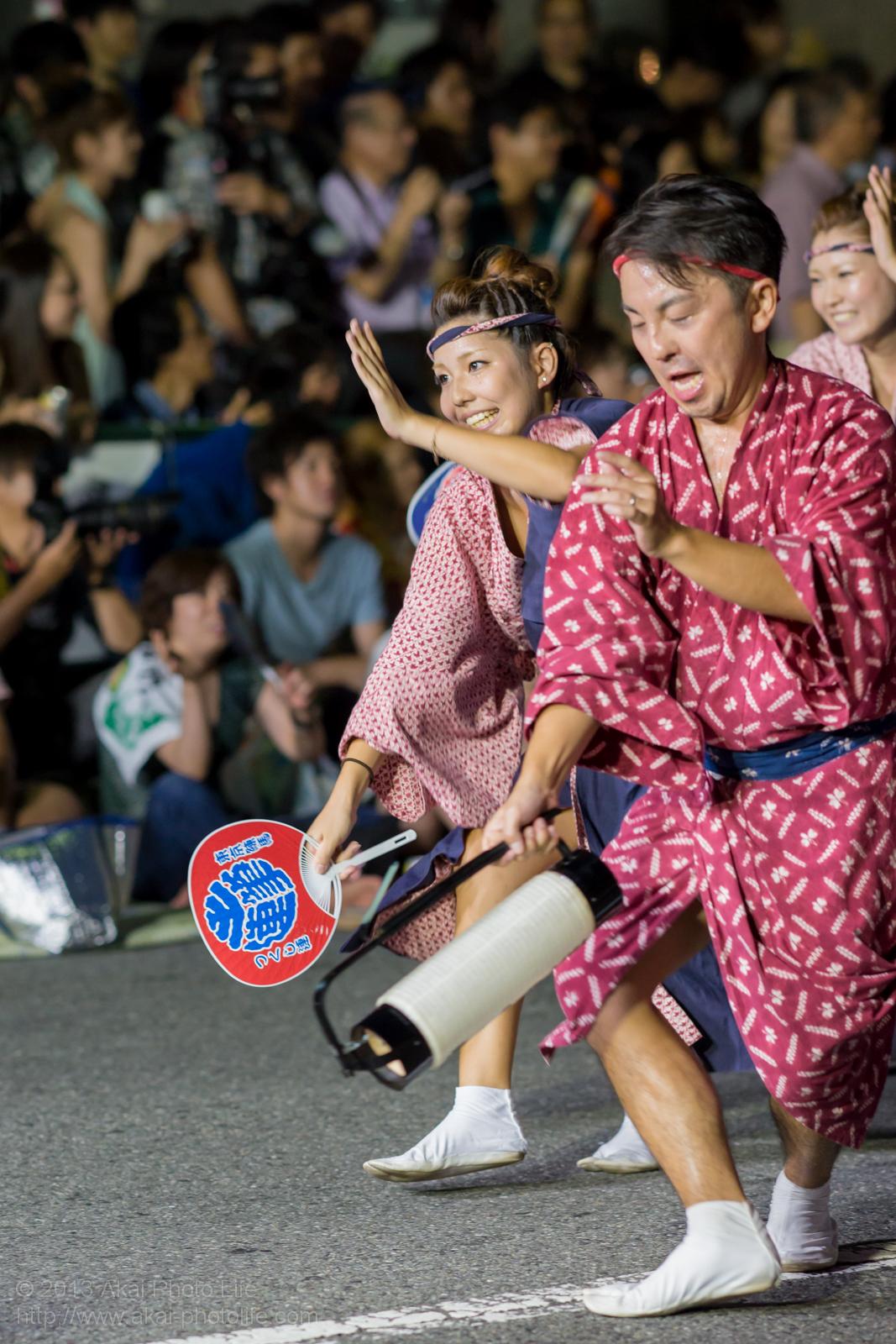 高円寺阿波踊り つくし連の写真